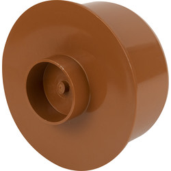 Socket Plug 160mm Terracotta - 67325 - from Toolstation