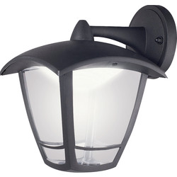 Luceco LUCECO LED 4 Panel Coach Lantern IP44 8W 640lm Top Arm - 67415 - from Toolstation