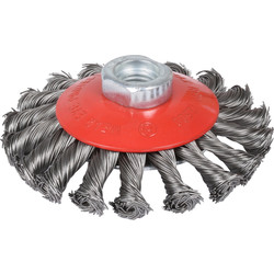 Abracs Abracs Twist Knot Wheel Brush 100mm - 67421 - from Toolstation