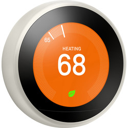 Google Nest Nest Learning Thermostat White T3030EX - 67461 - from Toolstation