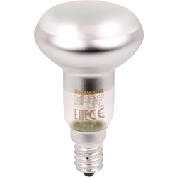 Sylvania Sylvania Energy Saving Halogen Dimmable Spot Lamp R50 28W SES (E14) 170lm - 67570 - from Toolstation