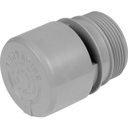 McAlpine McAlpine VP1 Air Admittance Valve Grey - 67573 - from Toolstation