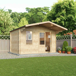 Mercia Mercia Retreat - 34mm 4m x 3m Single Glazed - 67579 - from Toolstation