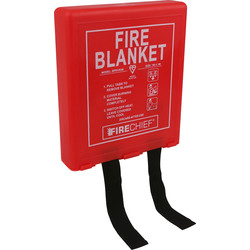 Firechief Firechief Fire Blanket 1m x 1m - 67642 - from Toolstation