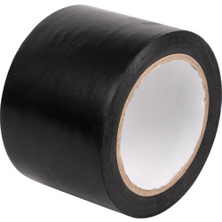 Single Sided PVC Tape 33m x 75mm - 67717 - from Toolstation