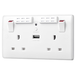 BG 13A Low Profile Wi-Fi Extender Switched Socket