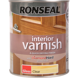 Ronseal Ronseal Interior Varnish 750ml Gloss Clear - 67734 - from Toolstation