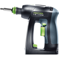 Festool Festool 18V Li-Ion C 18 Cordless Drill Driver Body Only - 67795 - from Toolstation