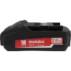 Metabo 18V Li-Ion Battery 2.0Ah