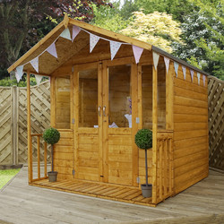 Mercia Mercia Traditional Summerhouse 7' x 8' - 67814 - from Toolstation
