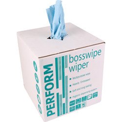Bosswipes 2 Ply 400 Sheets - 67864 - from Toolstation