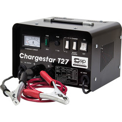 SIP SIP Chargestar T27 Battery Charger 12V / 24V 22.5A / 24A - 67909 - from Toolstation