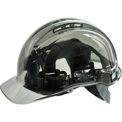 Peakview Safety Helmet Smoke