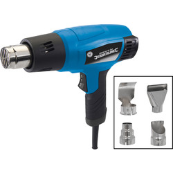 Silverline 2000W Hot Air Gun & Accessories