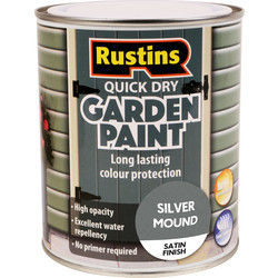 Quick Dry Garden Paint Silver Mound 750ml
