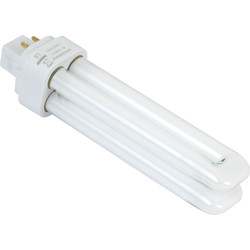 Sylvania Sylvania Lynx DE Energy Saving CFL Lamp 18W G24q-2 827K - 68163 - from Toolstation