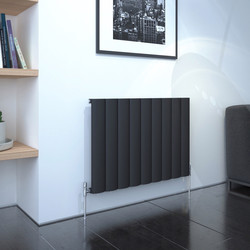 Kudox AluLite Arc Textured Black Designer Radiator