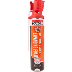 Soudal Fire & Acoustic Expanding Foam 600ml B1