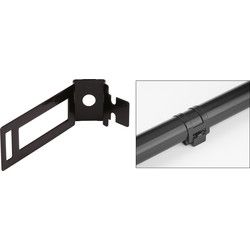 D-line Safe-D Conduit Clip 20mm Black