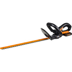 Worx Max 20V Li-Ion 52cm Cordless Hedge Trimmer