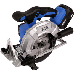 Draper Draper D20 20V 165mm Li-Ion Brushless Cordless Circular Saw 1 x 3.0Ah - 68340 - from Toolstation