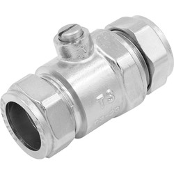 Made4Trade Made4Trade Full Bore Isolating Valve CP 22mm - 68376 - from Toolstation