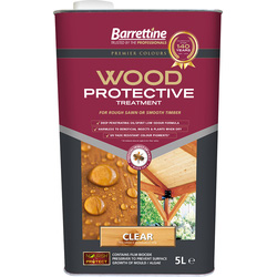 Barrettine Wood Protective Treatment 5L Clear - 68513 - from Toolstation