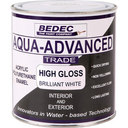 Bedec Aqua Advanced High Gloss Brilliant White 1L