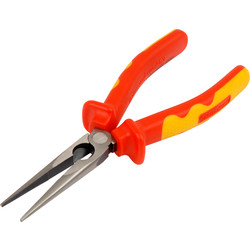 Draper Expert Draper Expert VDE Long Nose Pliers 200mm - 68665 - from Toolstation