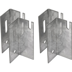 Universal Radiator Brackets  - 68683 - from Toolstation