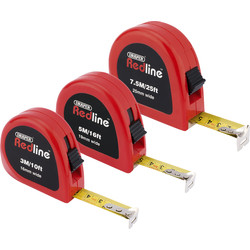 Draper Draper Pack of Tape Measures  - 68695 - from Toolstation
