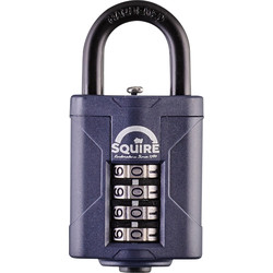 Squire Squire Combination Weatherproof Padlock 40 x 6 x 20mm - 68722 - from Toolstation