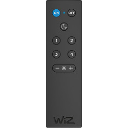 4lite WiZ 4lite WiZ Connected Smart WiFi Remote Control Black - 68794 - from Toolstation