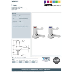 Contract Lever Taps