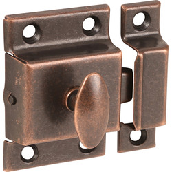 Cupboard Catch Florentine Bronze - 68872 - from Toolstation