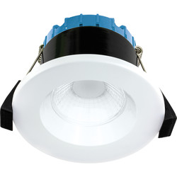 Luceco FType Compact Recessed 6W Smart Fire Rated IP65 Downlight