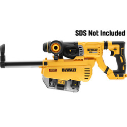 DeWalt 18V XR SDS-Plus Dust Extractor