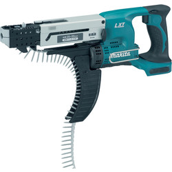 Makita Makita DFR550Z 18V LXT Li-Ion Cordless Autofeed Screwdriver Body Only - 69101 - from Toolstation
