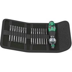 Wera Wera Kraftform Kompakt Ratchet Screwdriver  - 69112 - from Toolstation