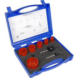 M3 Bi-Metal Plumbers Holesaw Kit