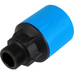"JG Speedfit JG Speedfit MDPE Male Adaptor 25mm x 3/4"" - 69381 - from Toolstation"