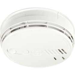 Aico Aico Ei141RC Easi-fit Ionisation Smoke Alarm 230V + 9V Alkaline Battery Back-up - 69457 - from Toolstation