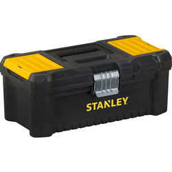 "Stanley Stanley Essential Toolbox Metal Latch 12.5"" - 69542 - from Toolstation"
