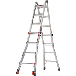 Little Giant Little Giant Classic Velocity Multi-Purpose Ladder 4 Rung - 69572 - from Toolstation