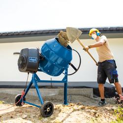 Scheppach MIX180 800W 180L Concrete Mixer