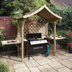 Rowlinson Rowlinson Party Arbour 240cm (h) x 181cm (w) x 129cm (d) - 69582 - from Toolstation