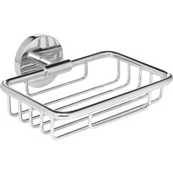 Polished Wire Soap Dish Chrome