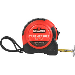 Minotaur Minotaur Measuring Tape 5m - 69655 - from Toolstation