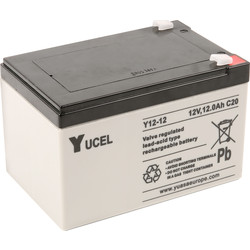 Sealed Lead Acid Battery 12V 12.0Ah 151 x 99 x 101mm