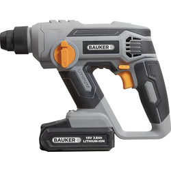 Bauker Bauker 18V Li-Ion Compact SDS Rotary Hammer Drill 1 x 2.0Ah - 69823 - from Toolstation